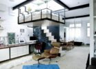 Modern Bohemian Studio Flat With Suspended Bed | iDesignArch ...