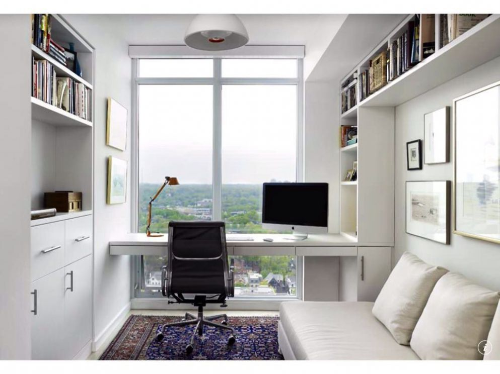 Modern Home Office - Found on Zillow Digs | Home office layouts ...