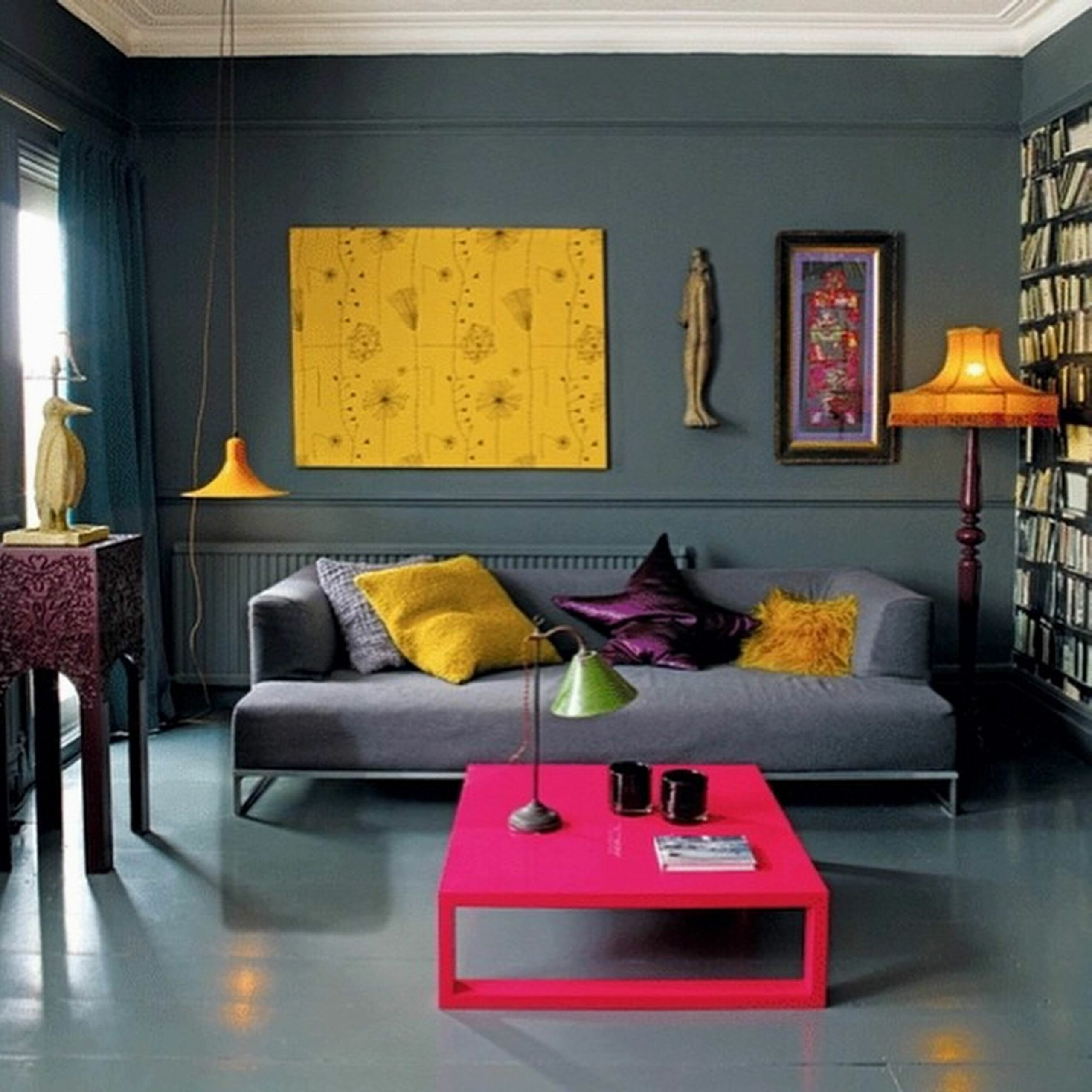 Modern Living Room Decor Cool With Image Of Minimalist Unique ...