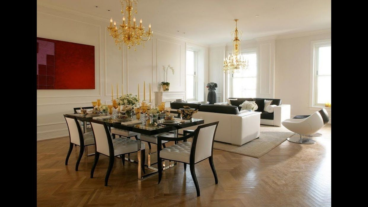 Modern living room dining room combo decorating ideas 12 ...