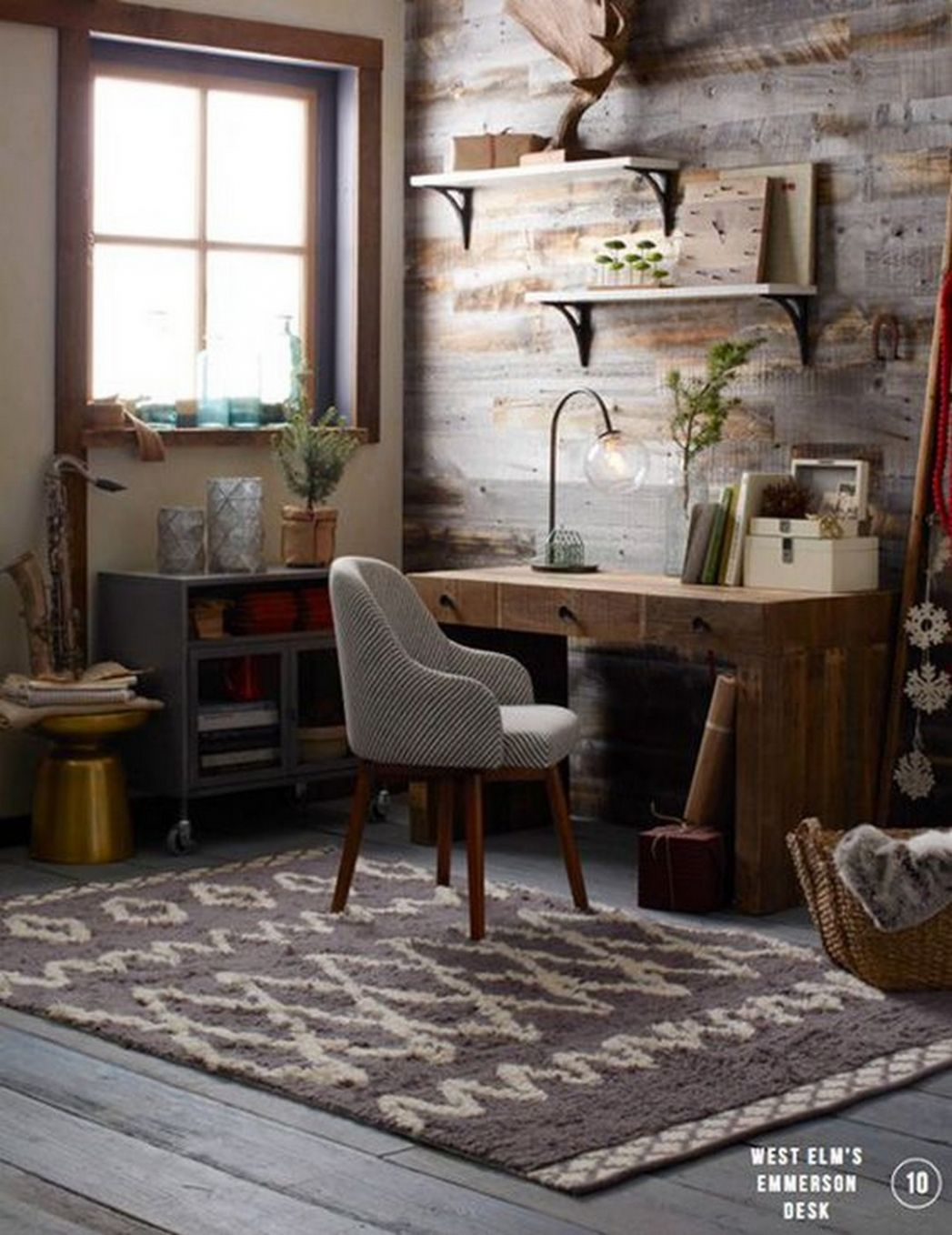 Modify Your Ordinary Home Office with These Great Rustic Office ..