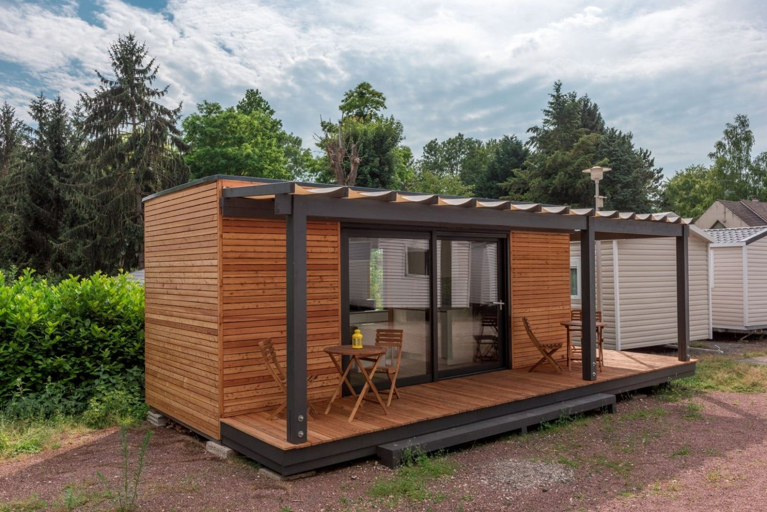 Modular Eco Tiny Houses on Wheels or on a Foundation