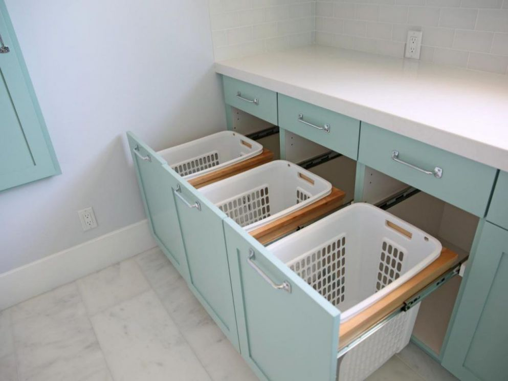 More Rooms : Original Sunny Side Up Laundry Room Bins Stacking ..