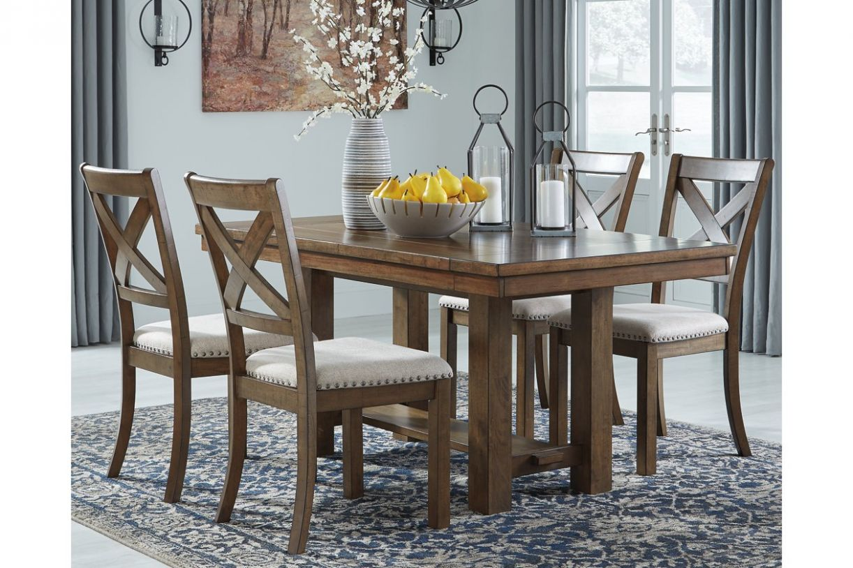 Moriville Dining Room Extension Table | Ashley Furniture HomeStore - dining room table extension ideas
