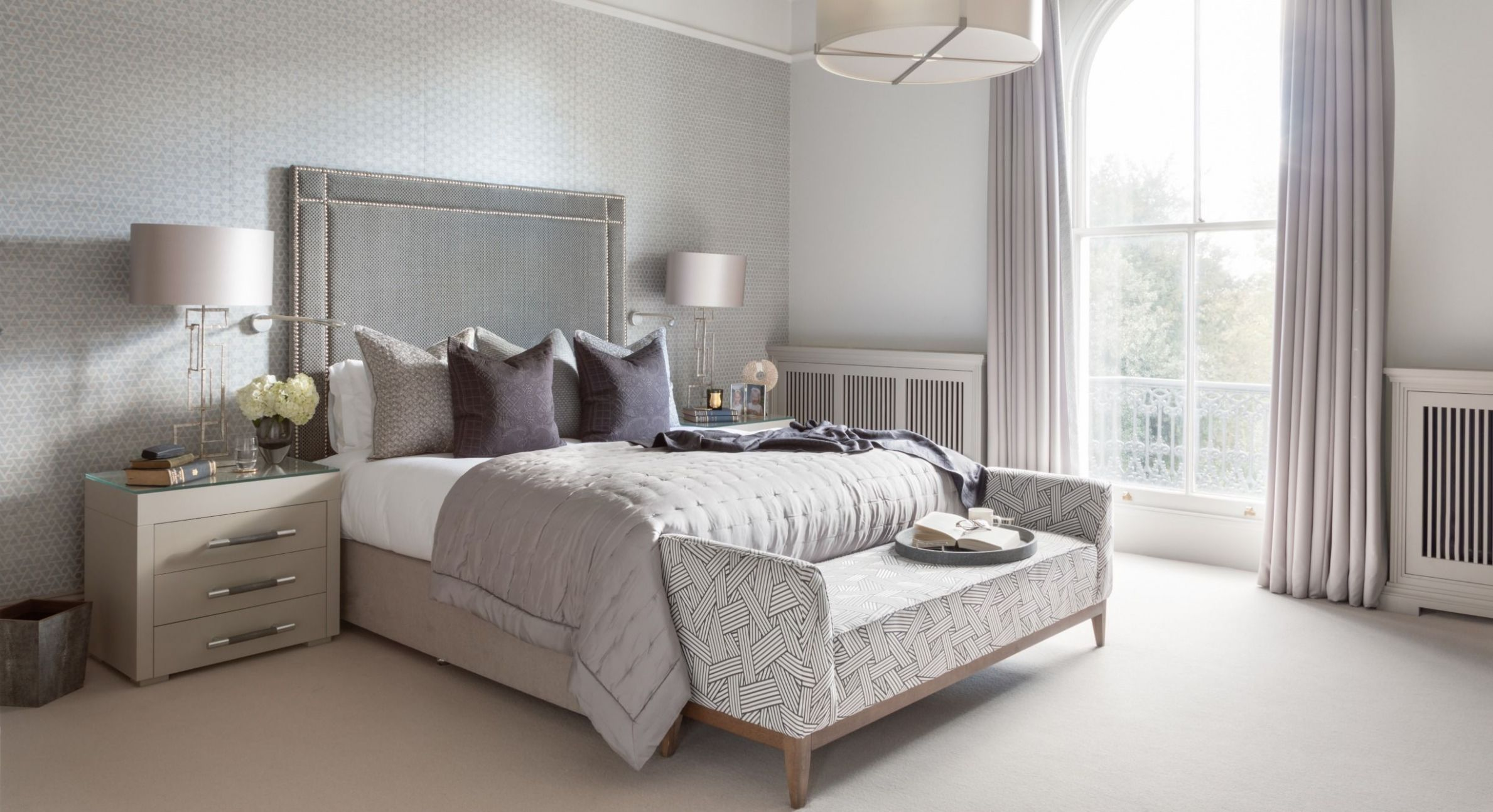 Neutral Bedroom Colour Ideas in 12 | Neutral bedrooms, Gender ..