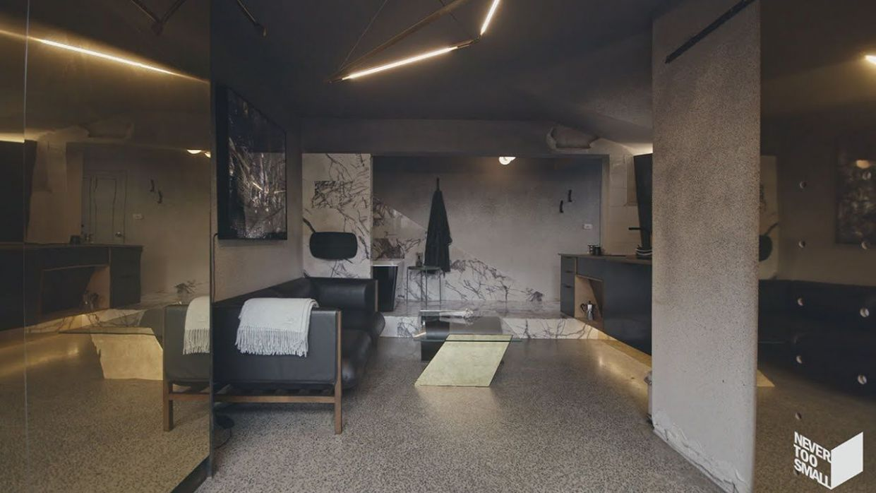 NEVER TOO SMALL ep.10 Micro apartment design Microluxe - YouTube ...