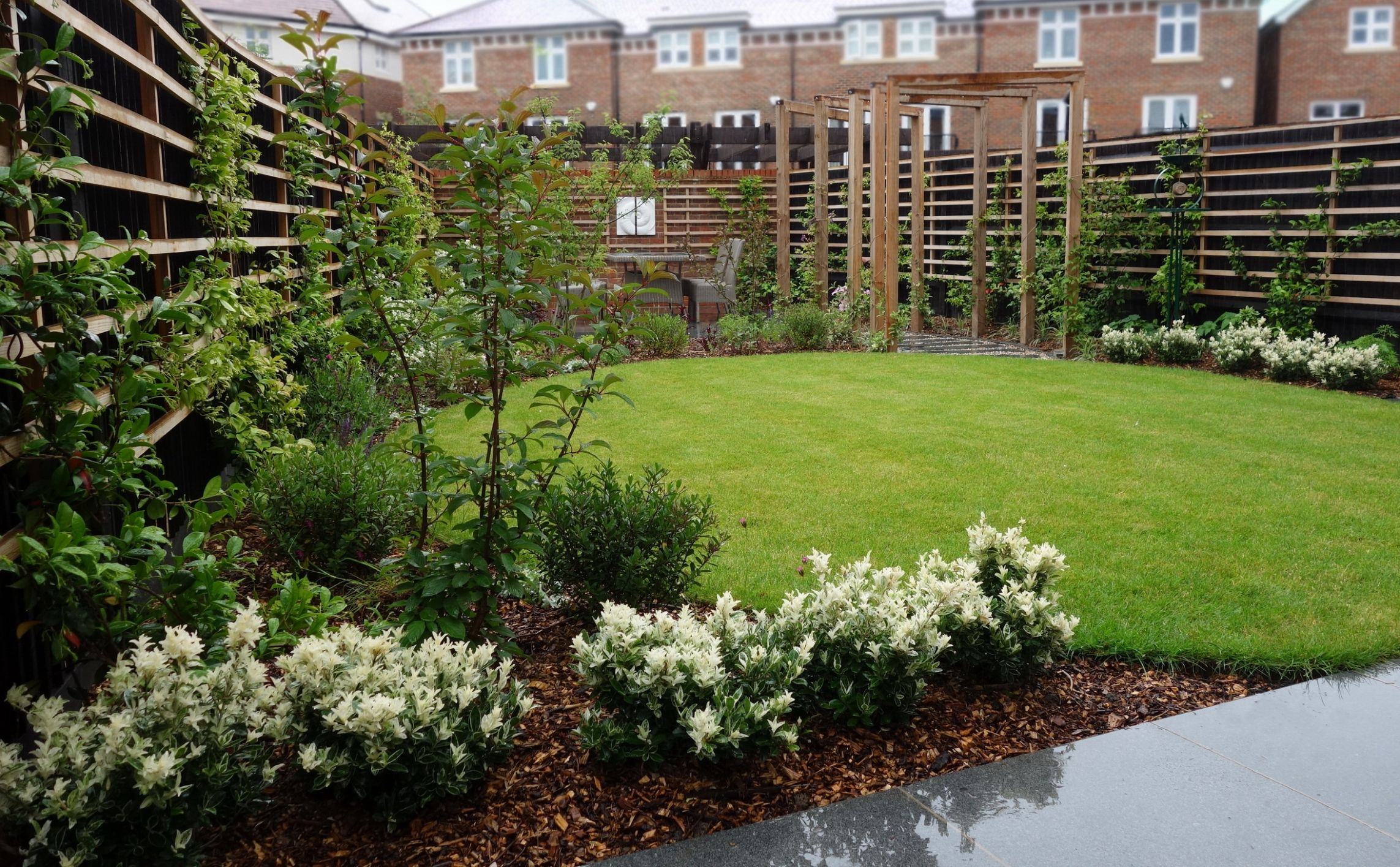 New Build Garden ideas - Rhoda Maw - garden ideas new build
