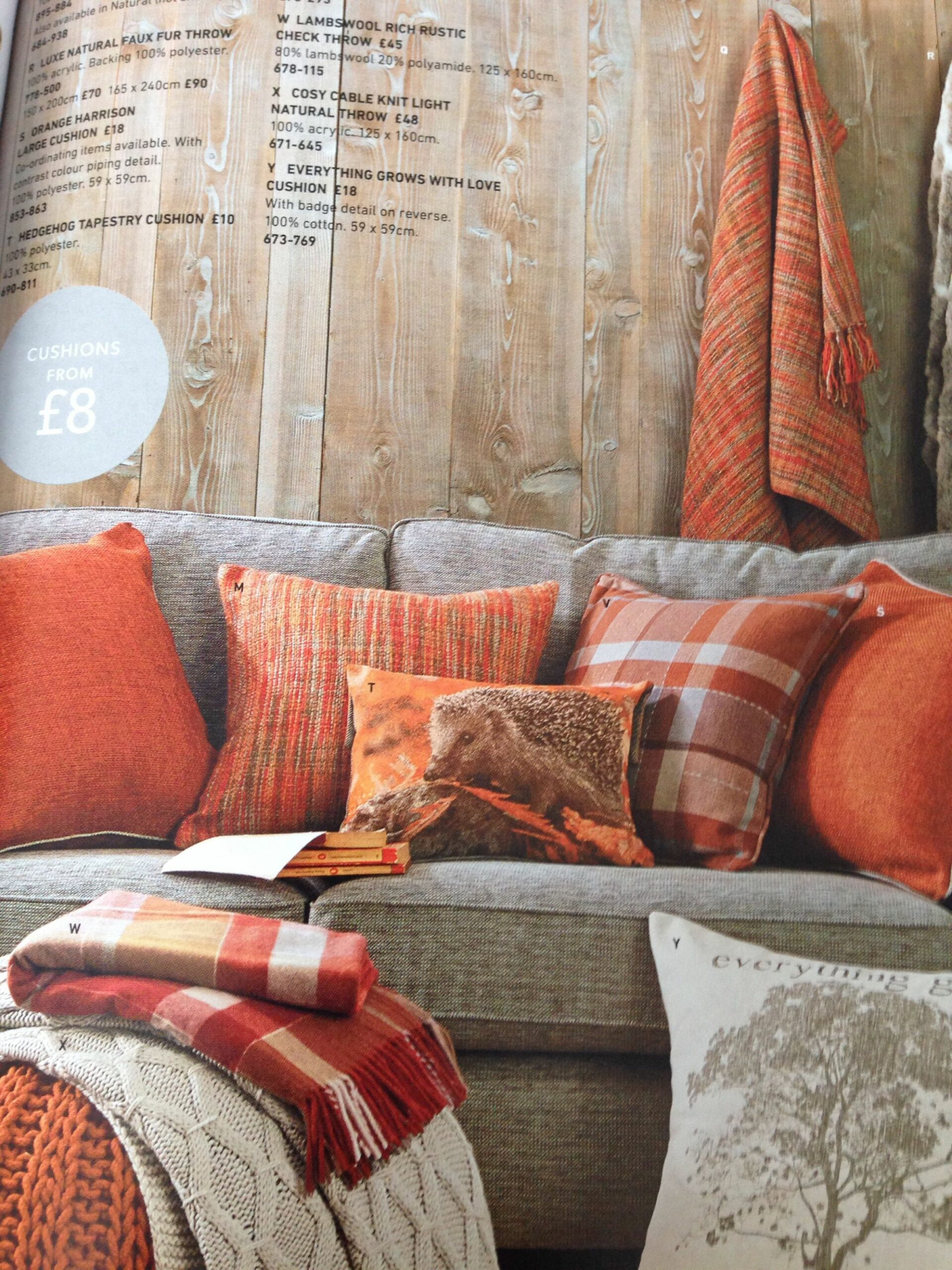 Next orange cushions | Living room orange, Living room turquoise ...