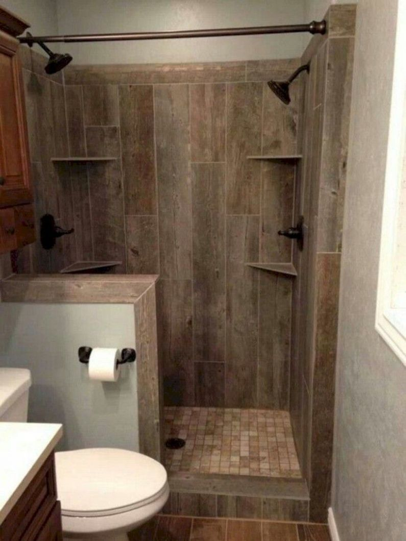 nice 10 Small Country Bathroom Designs Ideas   Small rustic ...