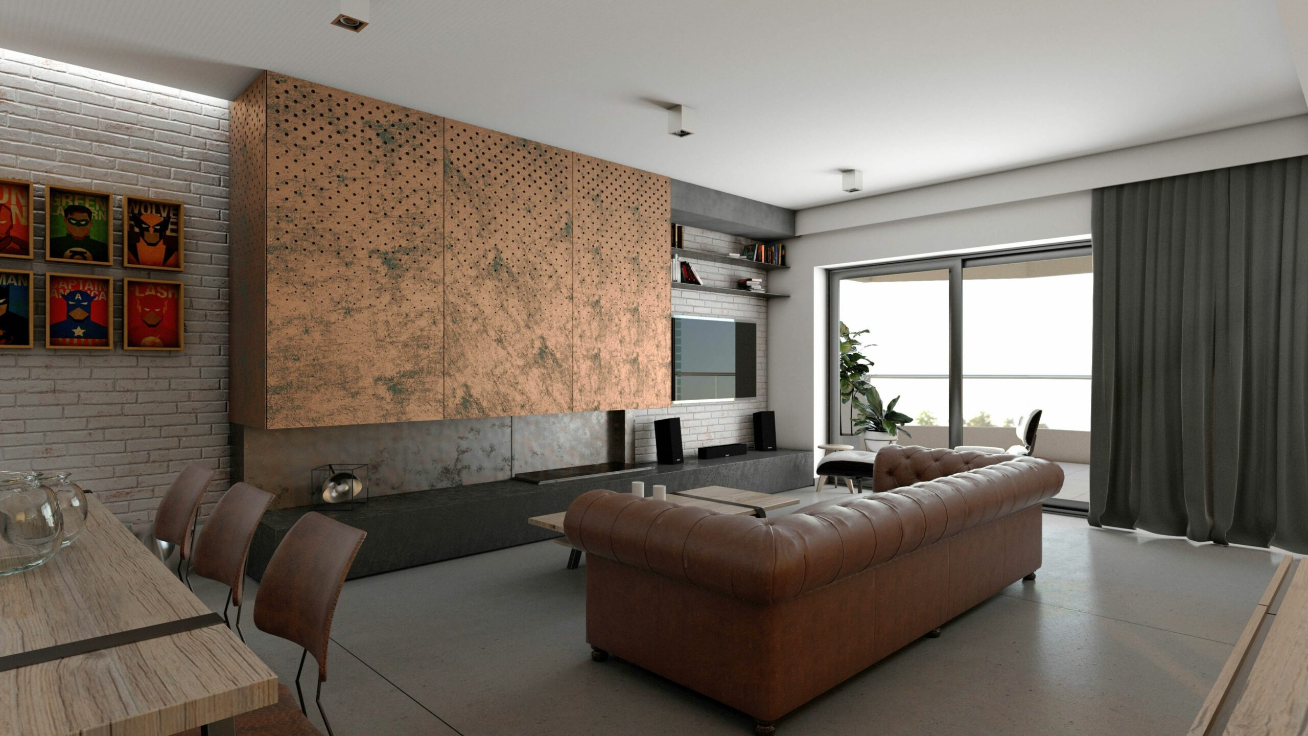 NM ARCHITECTS | Urban Modern Apartment design development