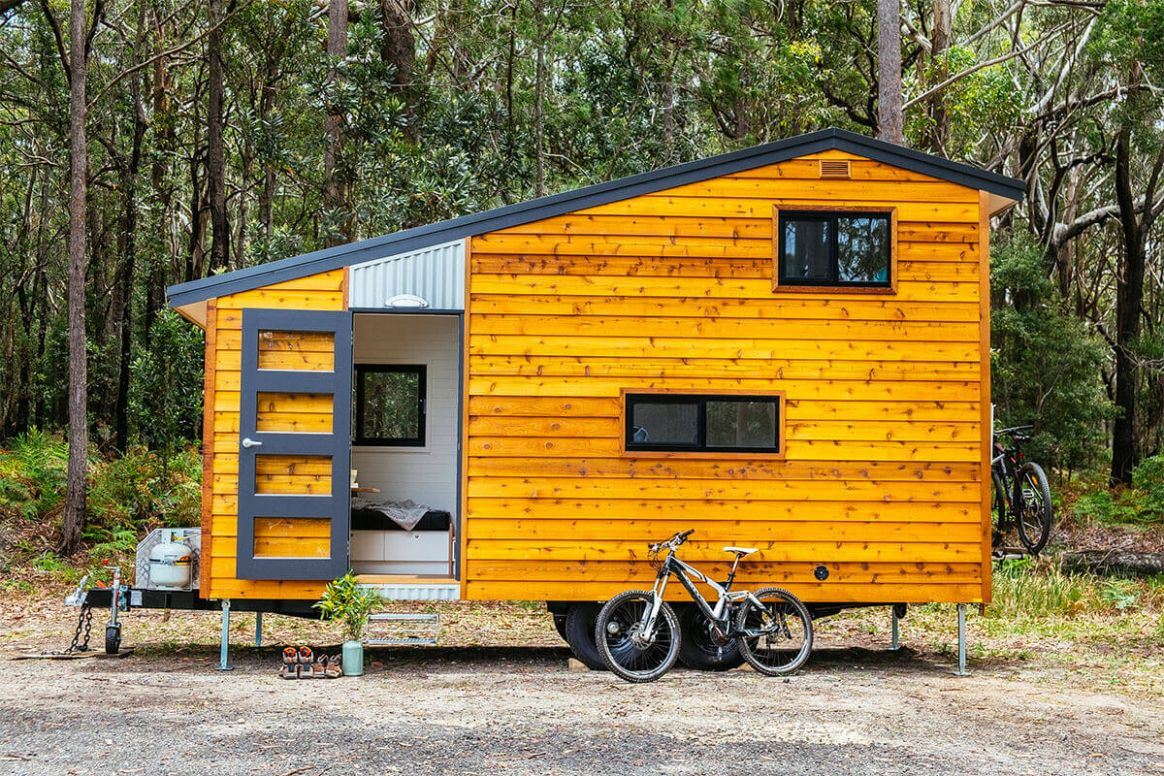 No Impact Girl: Man on a mission: Grant Emans, tiny house builder - tiny house grants