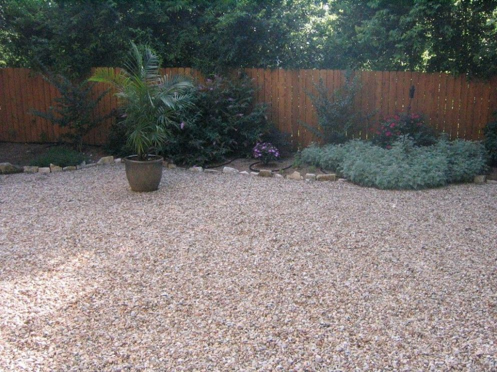 Non Plant Alternatives To Lawn Grass | Gravel landscaping, Grass ..