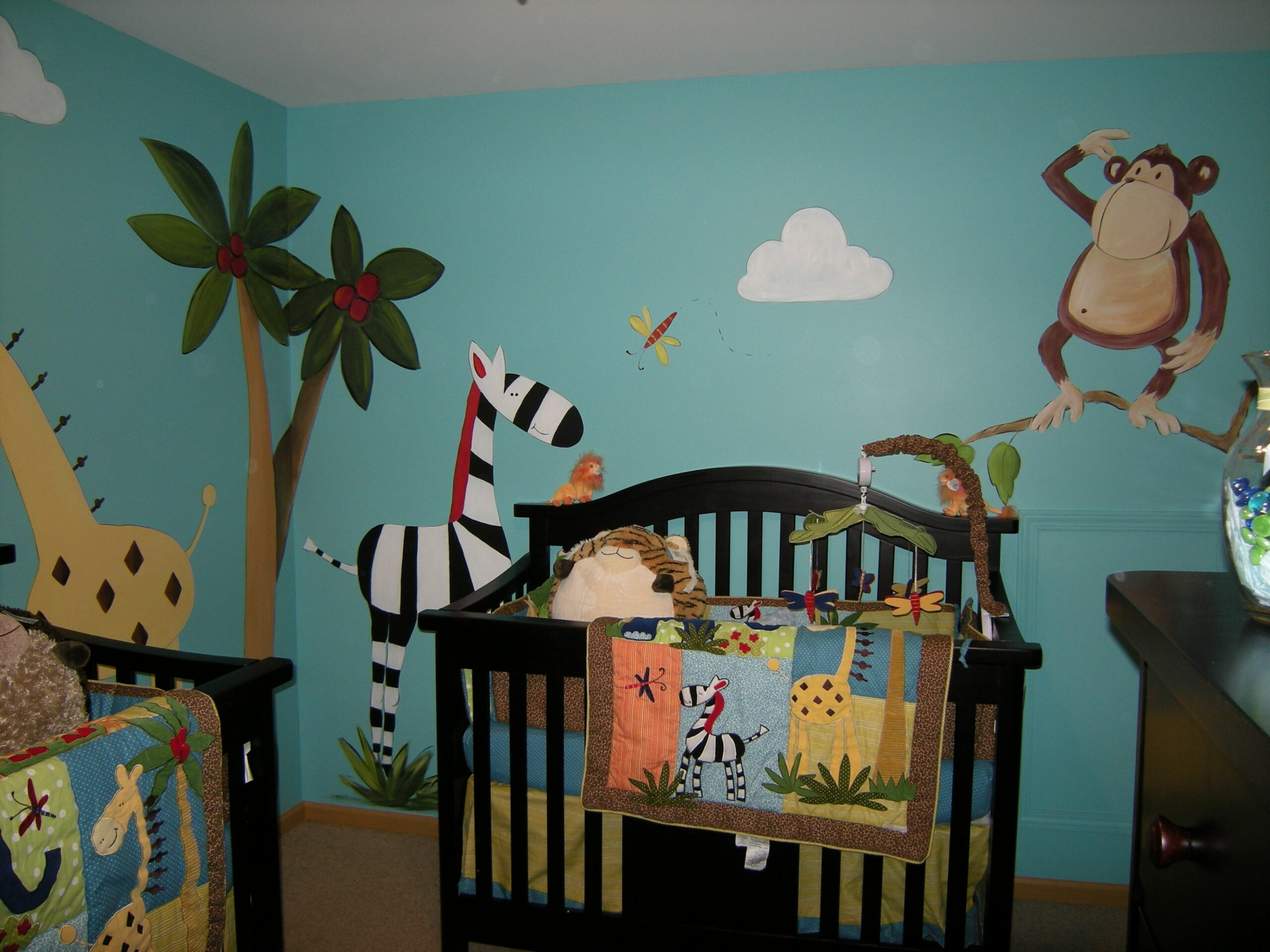 Nursery Murals and More – Baby Nursery Wall Mural Ideas - baby room murals