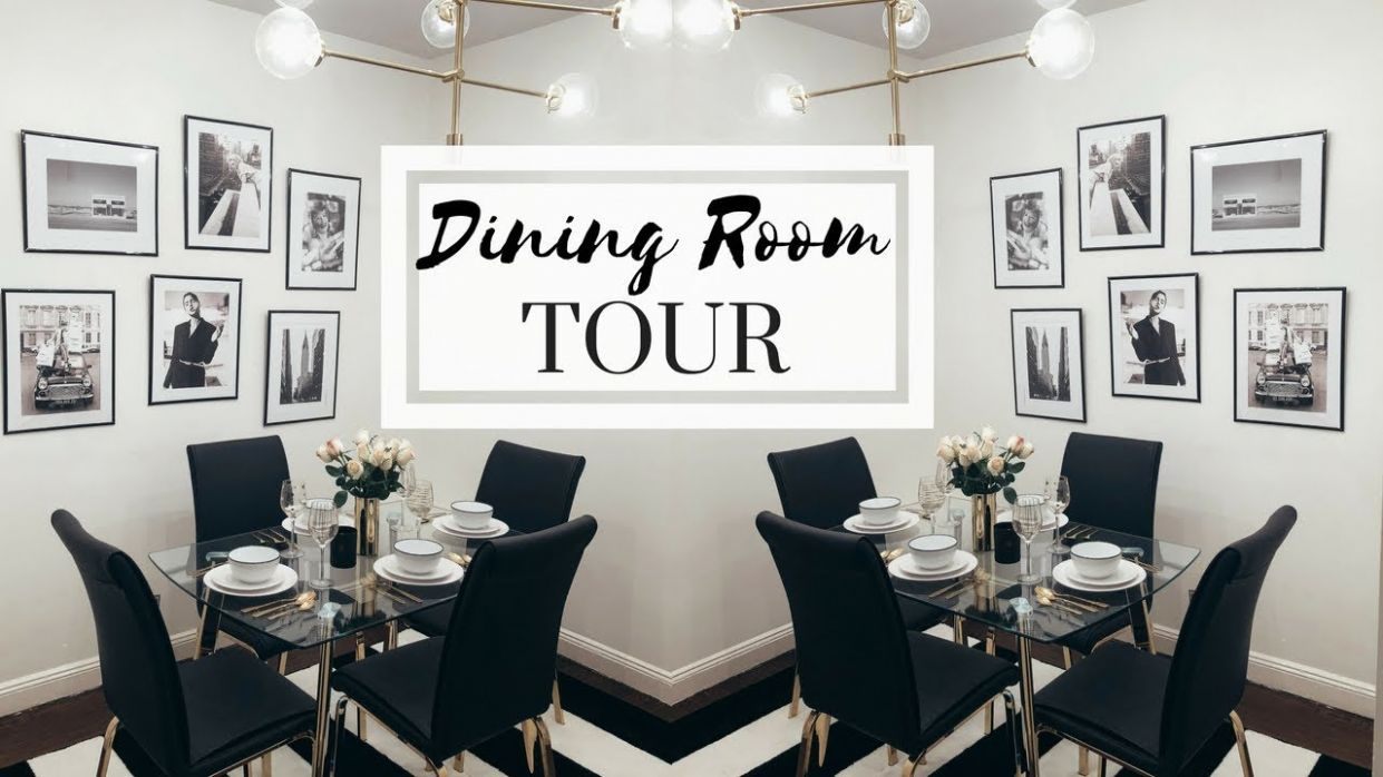 NYC APARTMENT TOUR - THE DINING ROOM | Dining Room Decorating Ideas - apartment dining room decor ideas