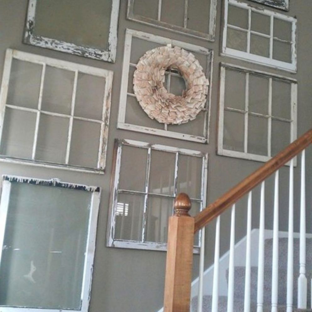 Old Window Frames DIY Ideas and Window Frame Crafts - Clever DIY Ideas