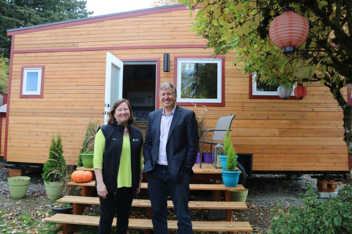 One approach to long-term shelter: Tiny grants for tiny homes ...