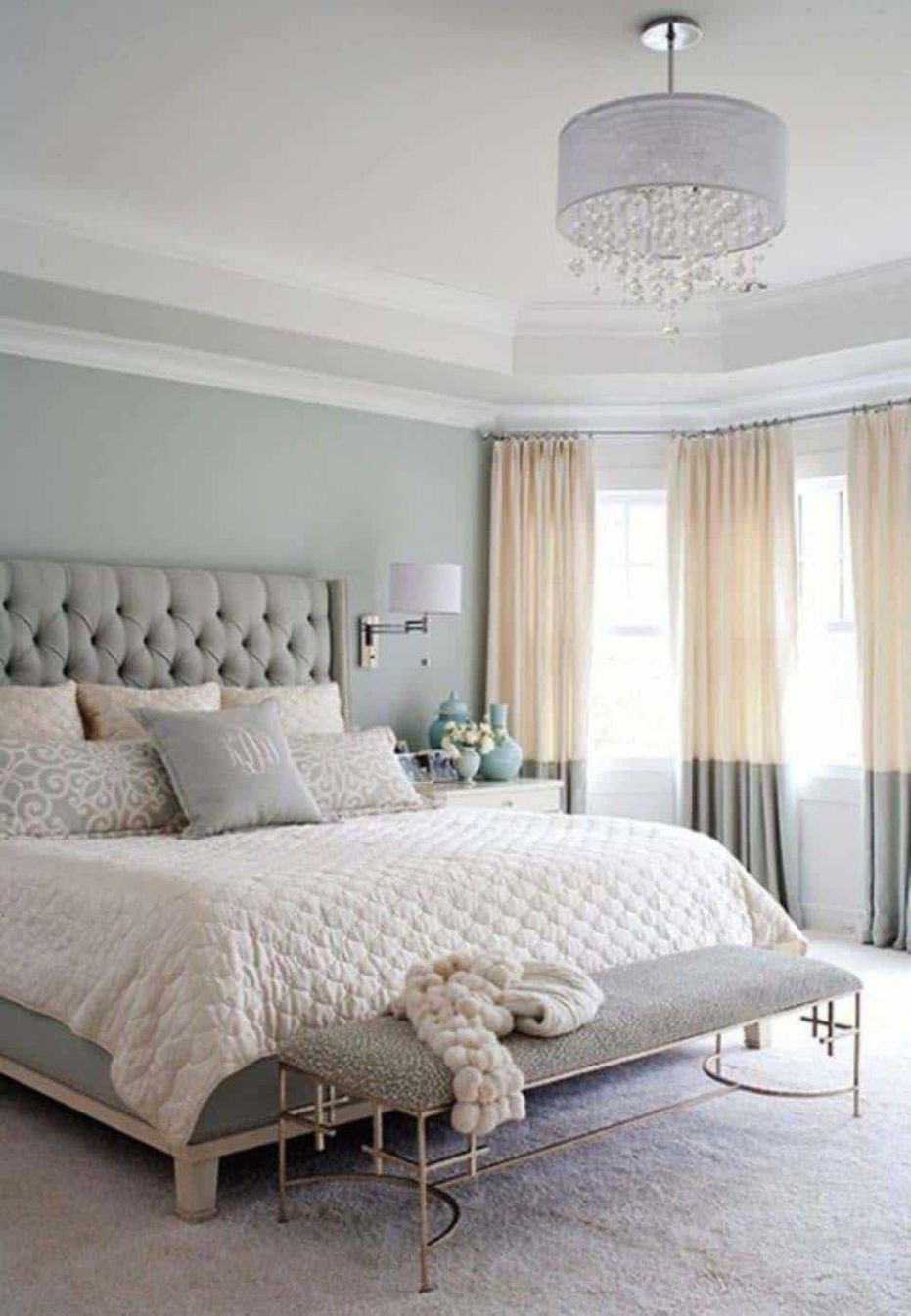 One Kindesign - bedroom ideas and colours