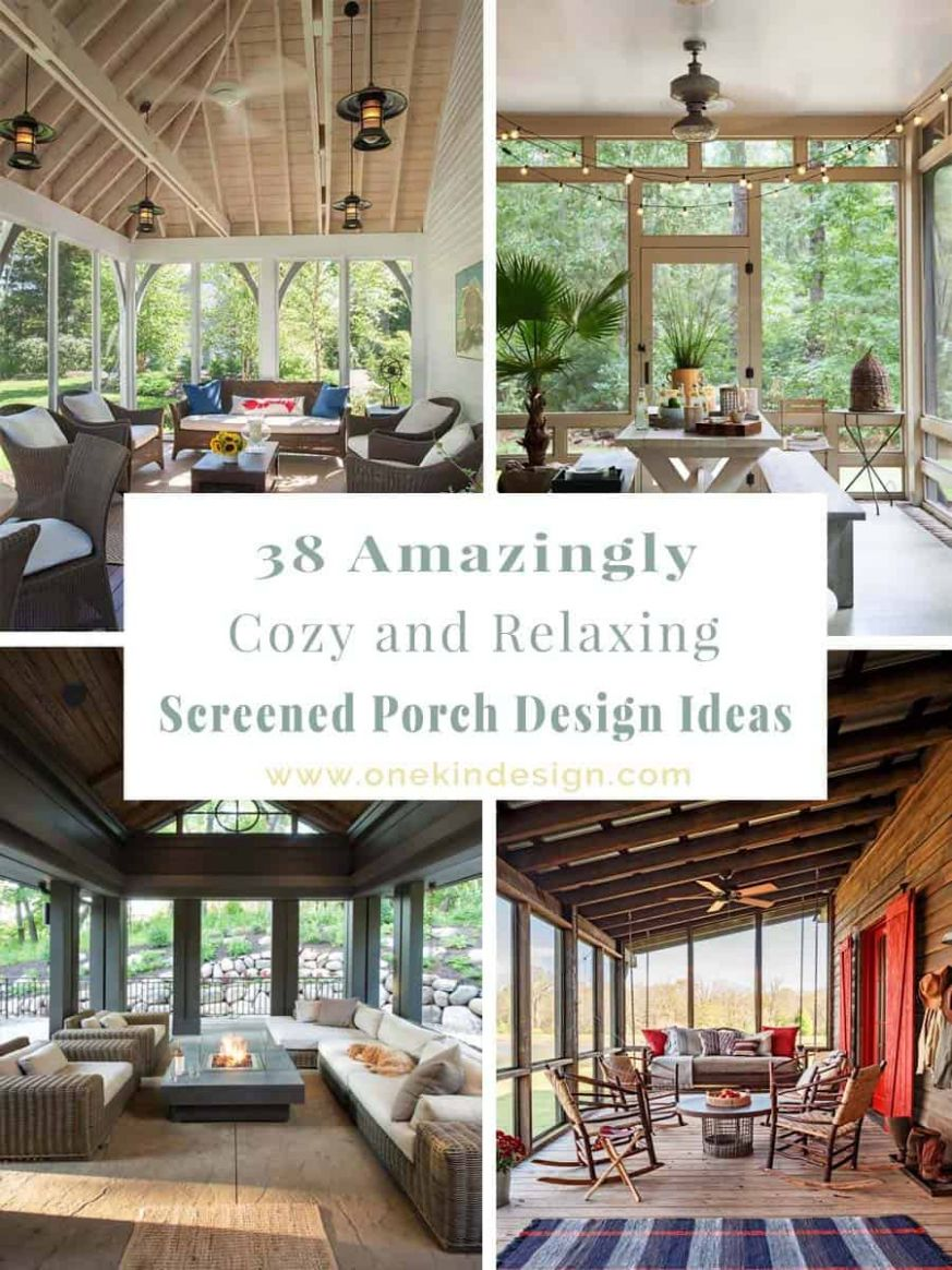 One Kindesign - front porch home decor lake country