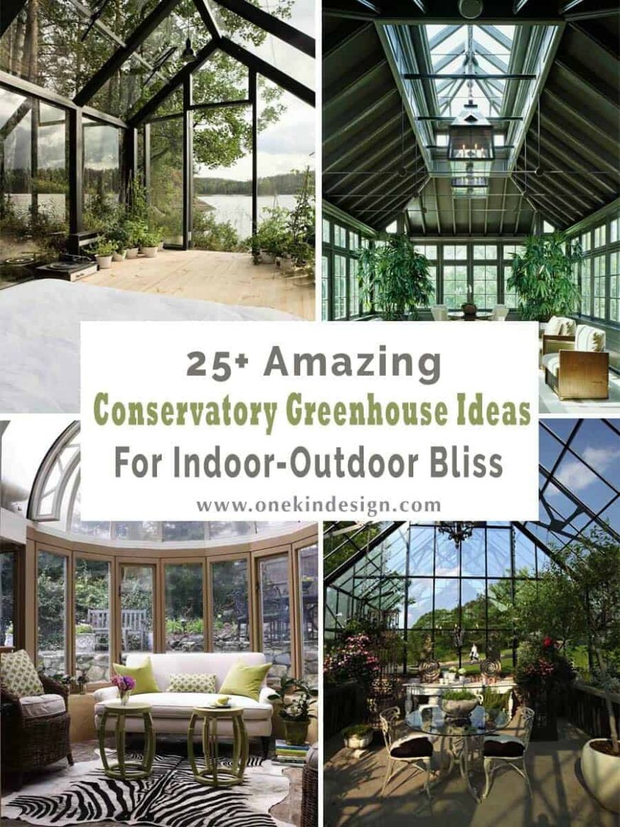 One Kindesign - greenhouse inspiration