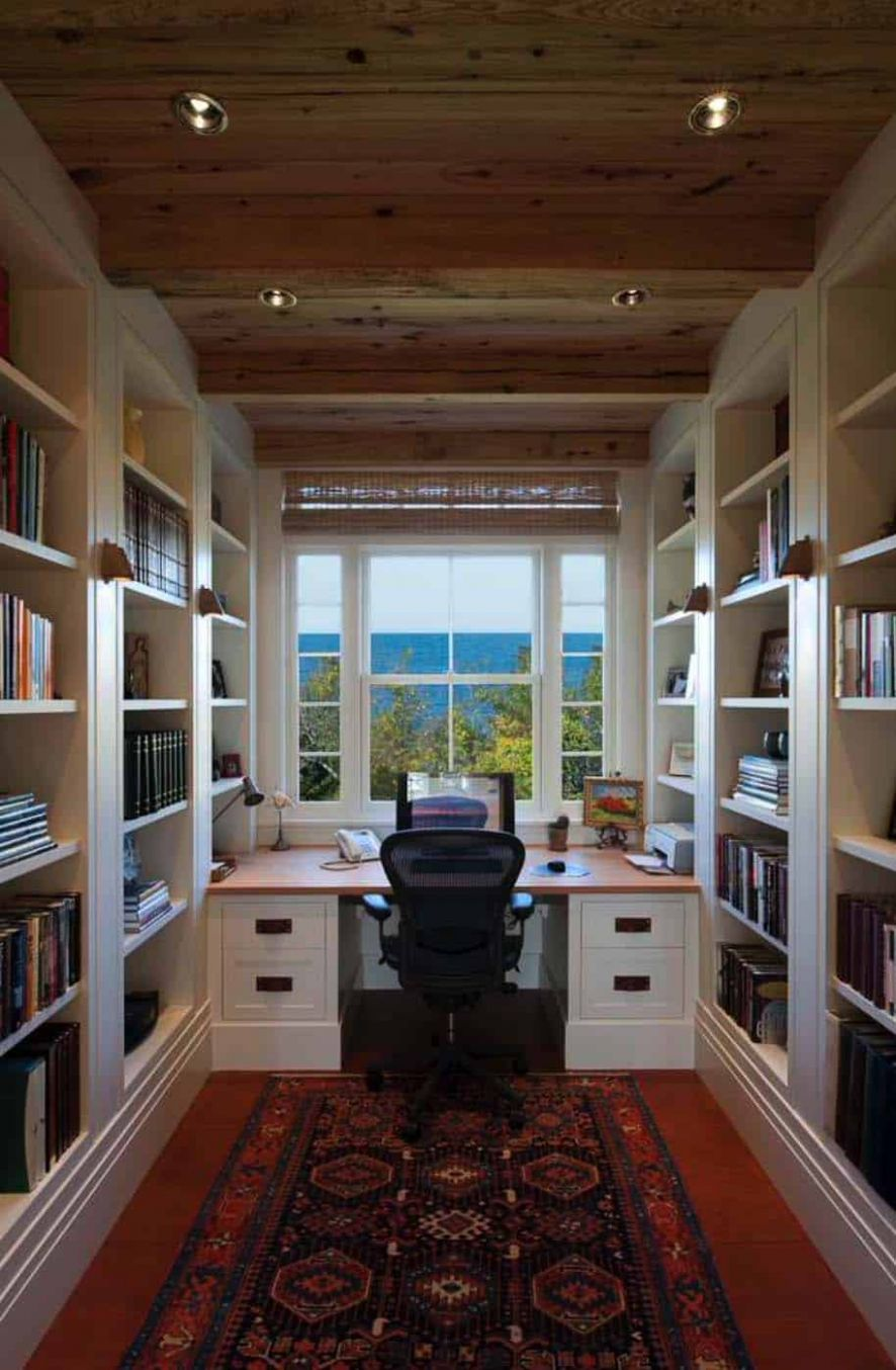 One Kindesign - home office ideas for writers