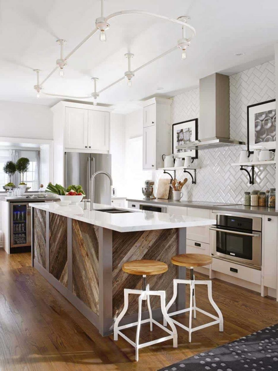 One Kindesign - kitchen ideas island