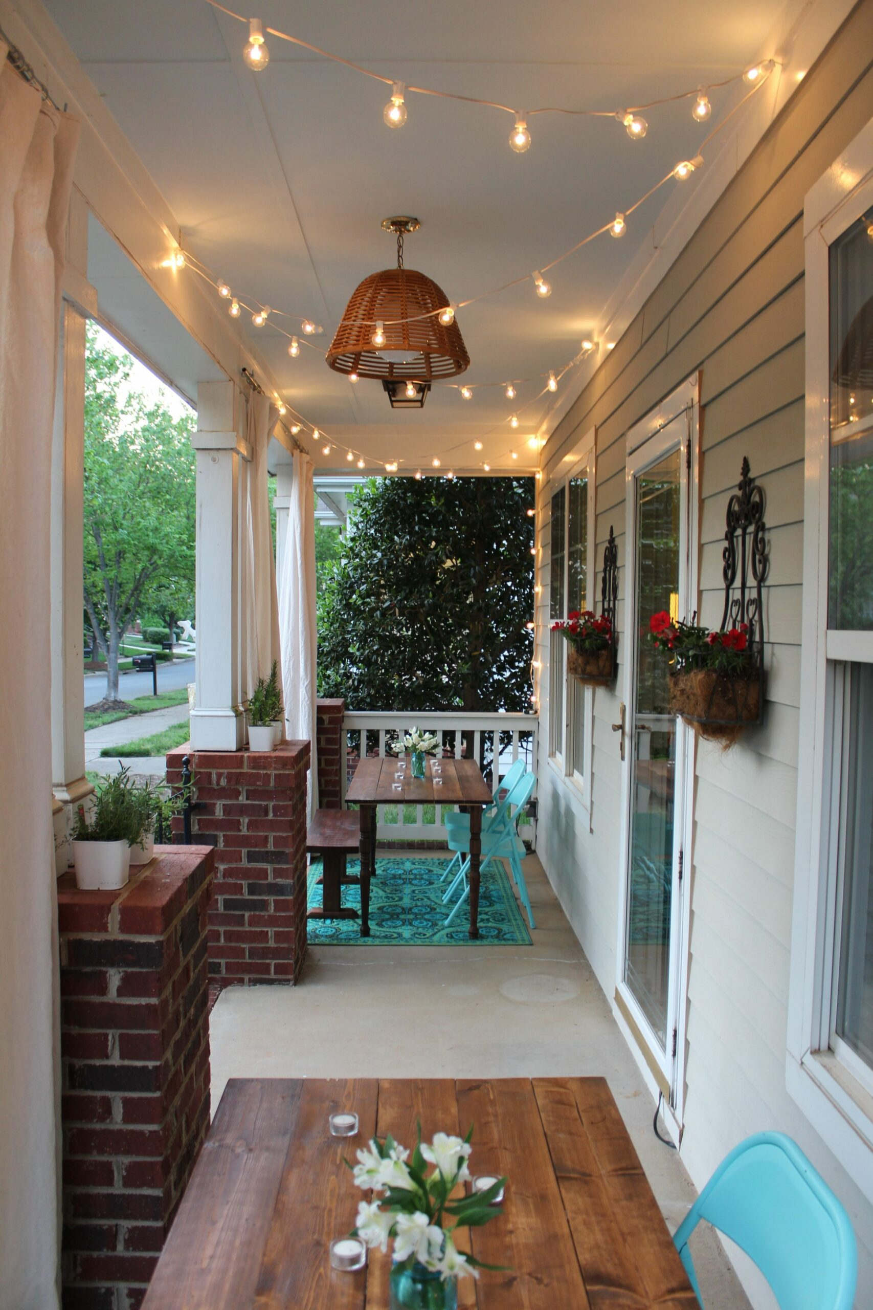 One Room Challenge: The Porch Project Reveal | Small porch ..