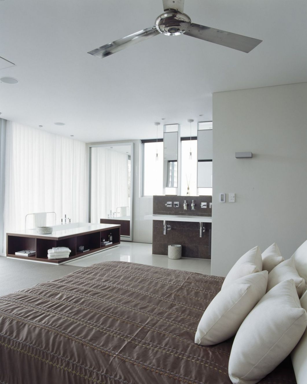 open concept bedroom and bathroom ideas | ... new Modern Design ..