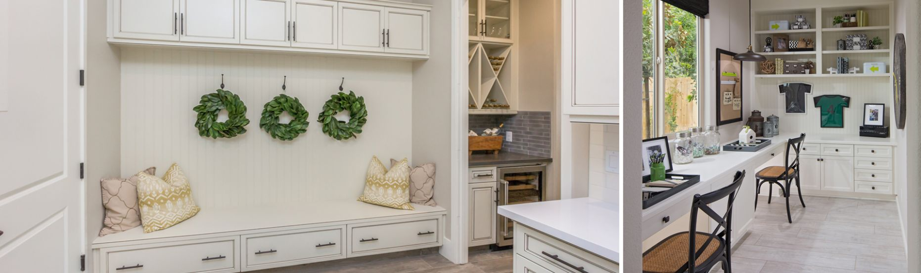 Organizing Your Home With a Drop Zone - McCaffrey Homes - kitchen drop zone ideas