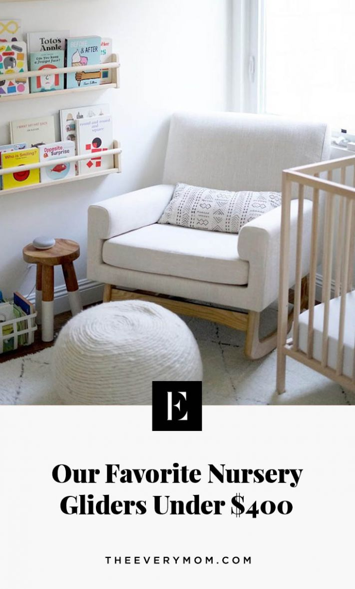 Our Favorite Nursery Gliders Under $10 | The Everymom - baby room recliner rocker