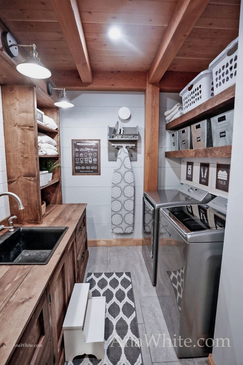 """Our Laundry Room """"Machine"""" Tour + Sources 