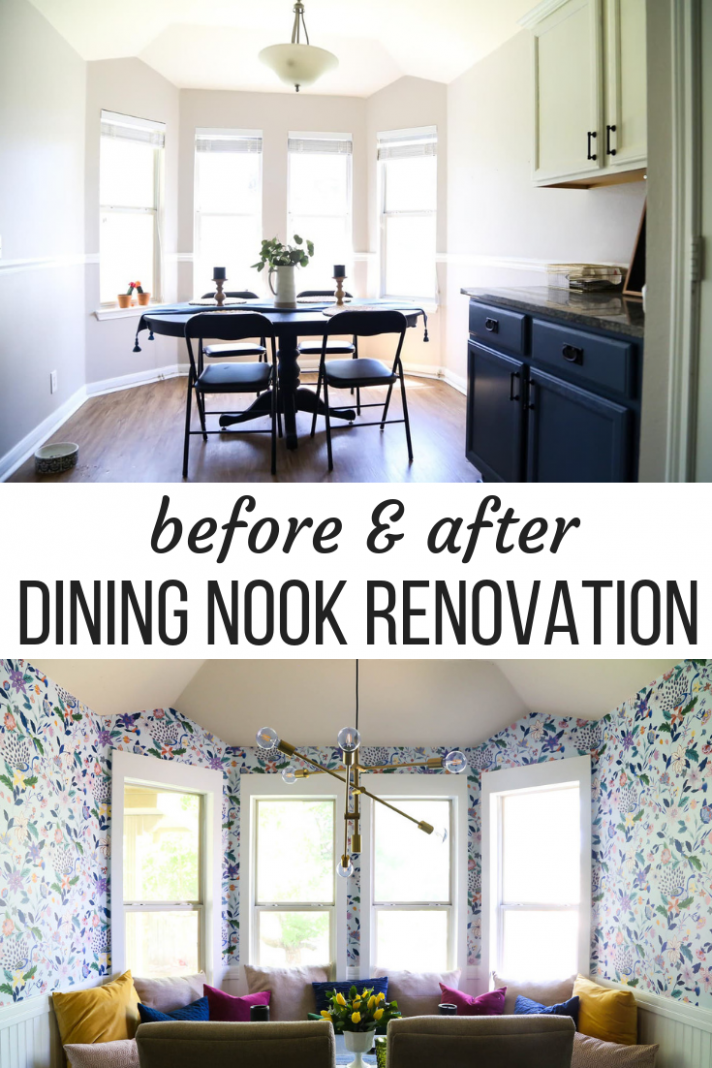 Our Small Dining Room Renovation: Ideas for How to Make a Big ..