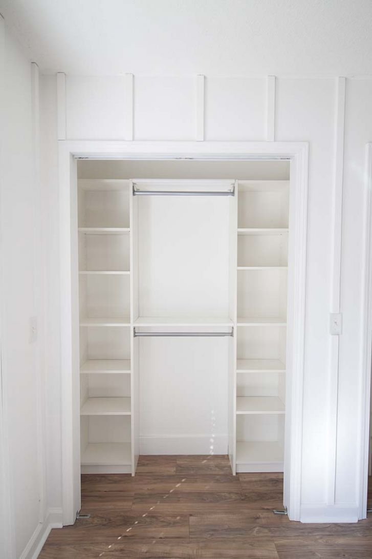 Our Under $9 IKEA Hack Closet Makeover | Southern Revivals