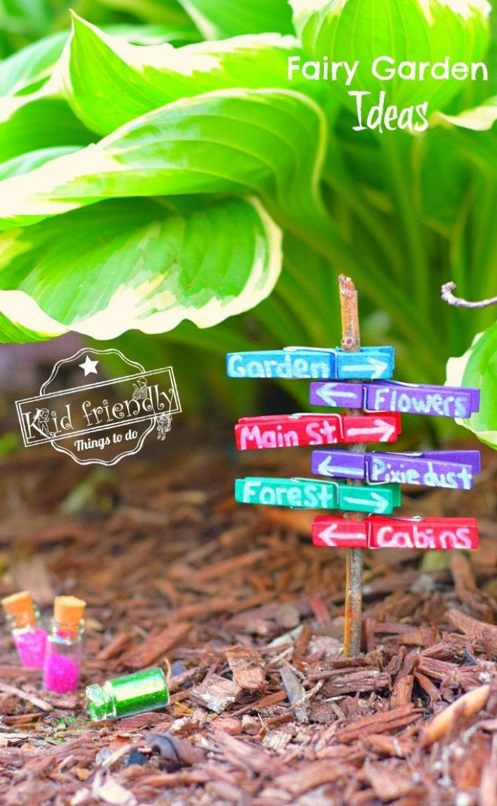 Over 12 Fairy Garden Ideas for Kids in the Garden | Diy feengarten ..