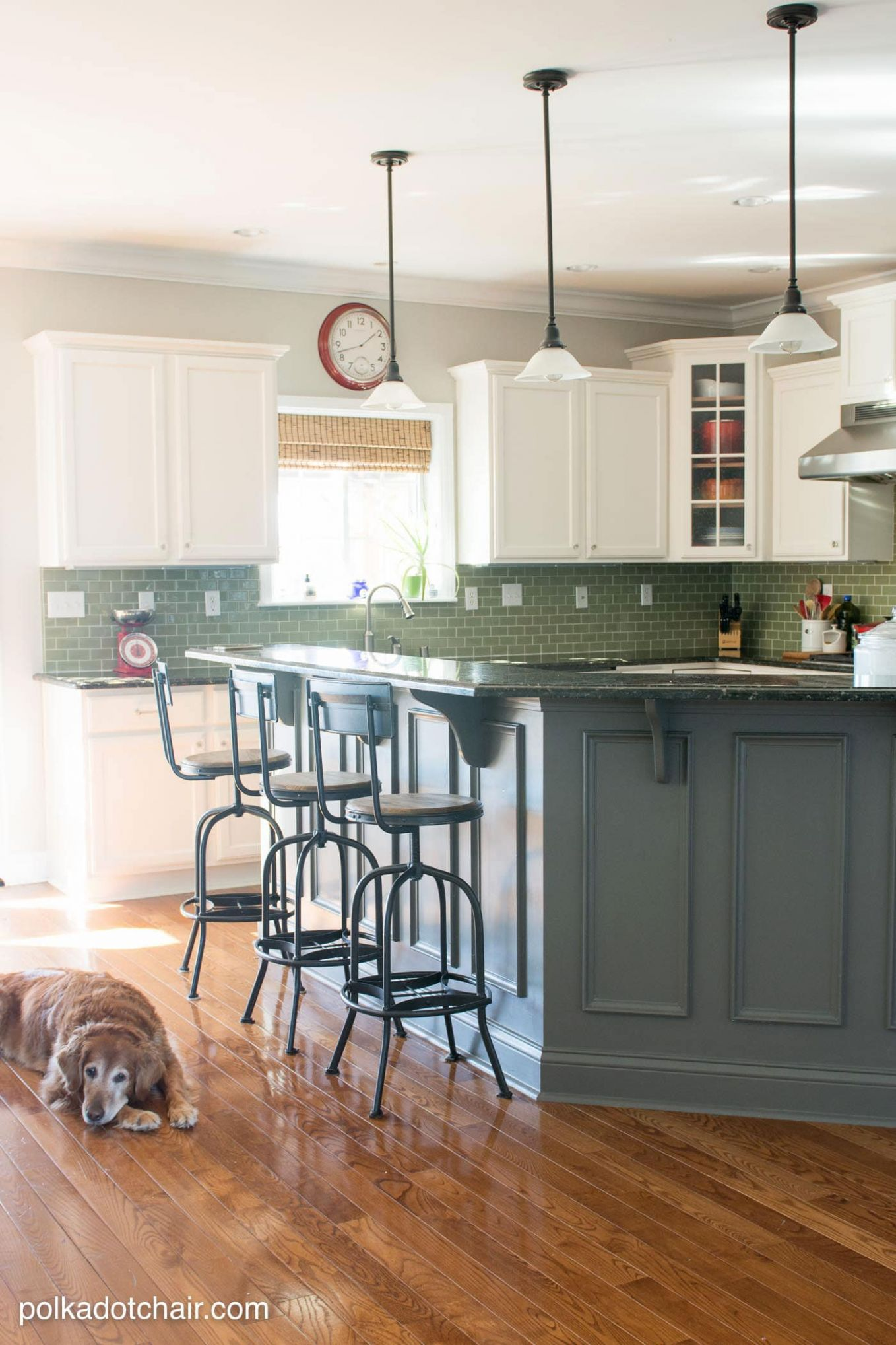 Painted Kitchen Cabinet Ideas and Kitchen Makeover Reveal | The ..