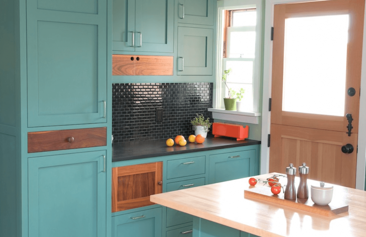 Painted Kitchen Cabinet Ideas - Freshome - kitchen ideas painted cabinets