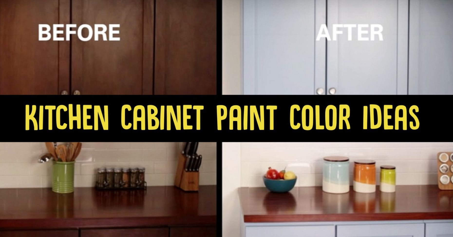 Painting Kitchen Cabinets: Refresh Your Outdated Kitchen With ...