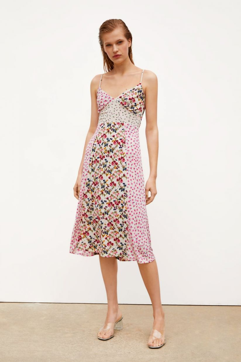 PATCHWORK PRINT DRESS-SPRING BLOOM-SHOP BY COLLECTION-WOMAN | ZARA ..