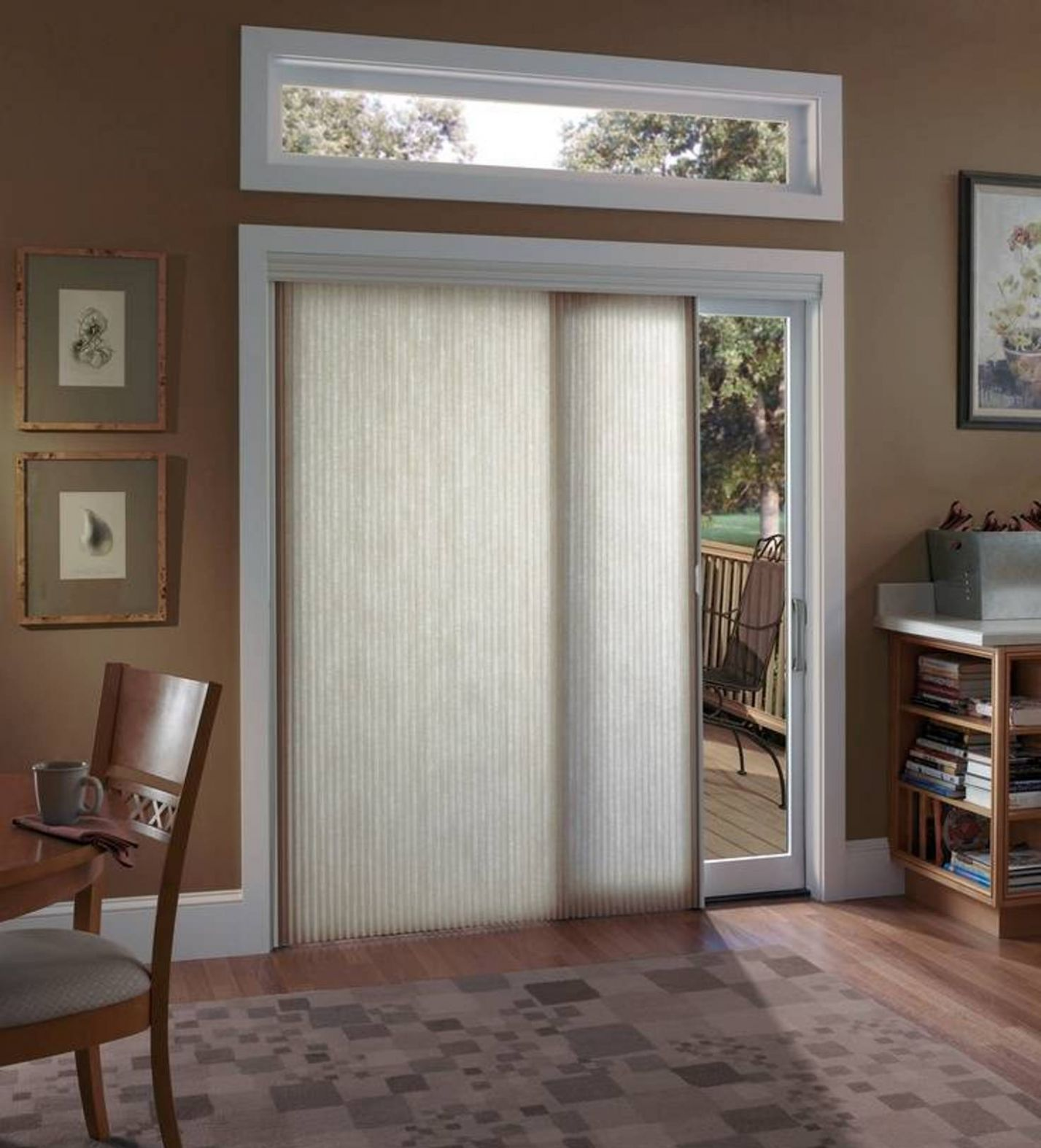 Patio Door Coverings Ideas — Givdo Home Ideas - window covering ideas for sliding glass doors