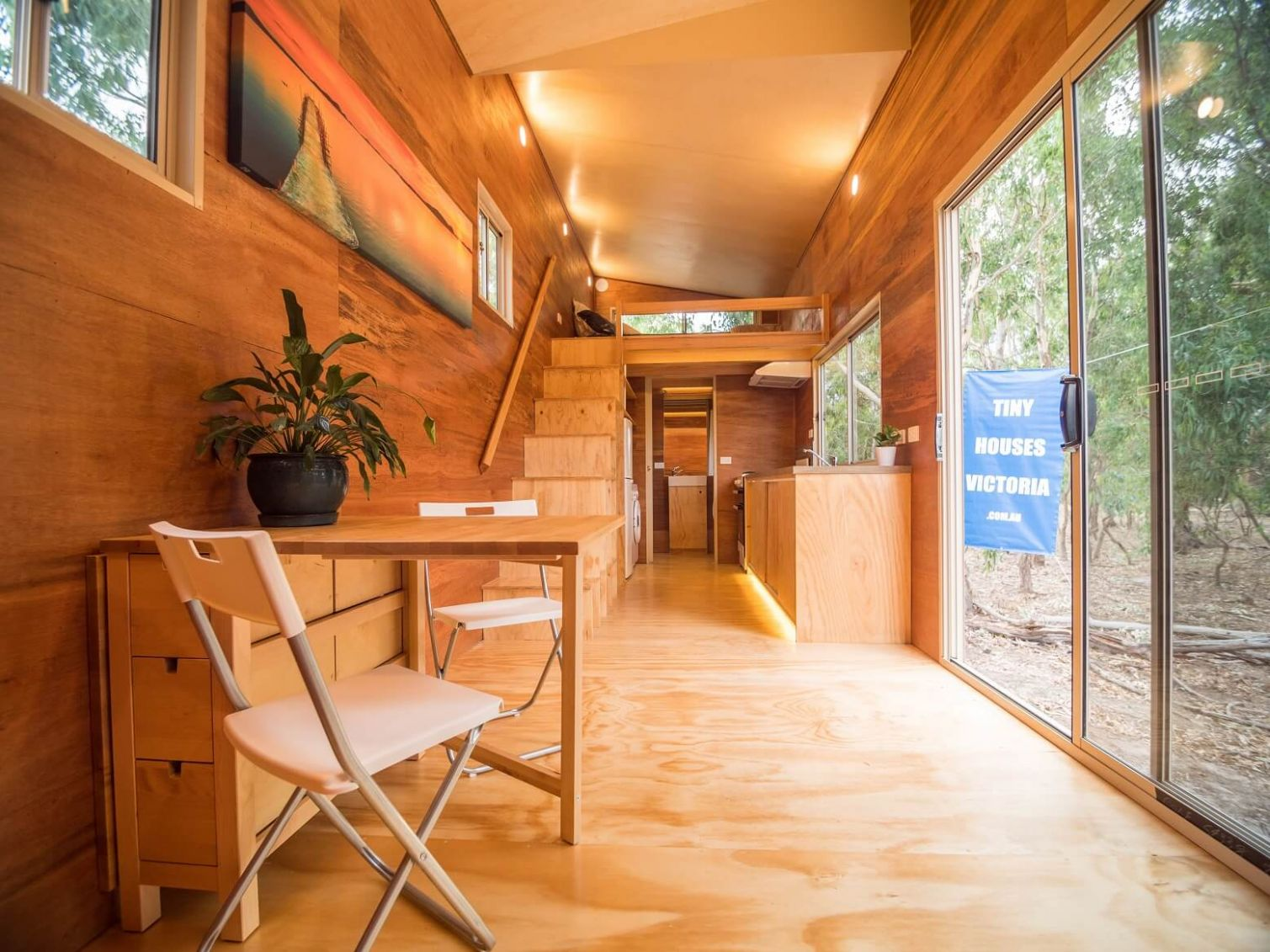 Paul's Tiny House on Wheels - Sustainable House Day