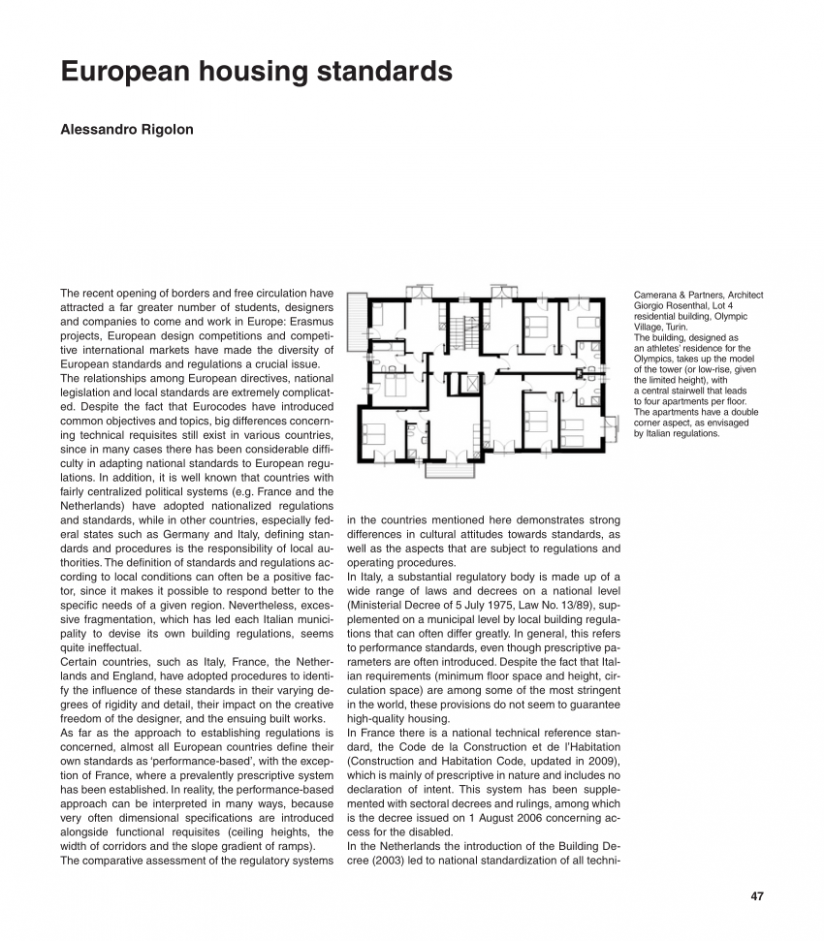 PDF) European housing standards