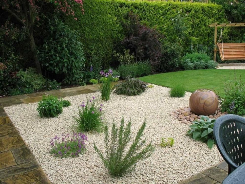 Pea Gravel Landscaping Ideas Designs Ideas And Decor Intended For ..