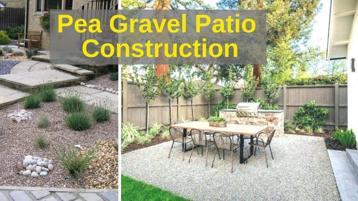 Pea Gravel Patio for $11 in 11 hours. Timelapse