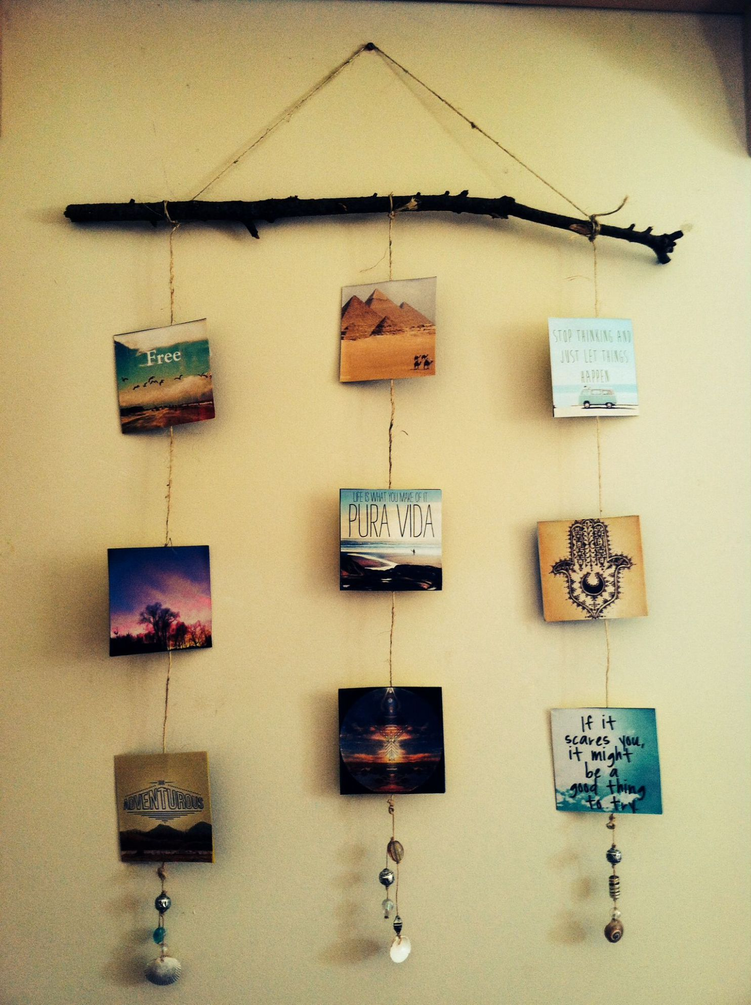 Photo Craft Ideas | Diy boho decor, Hippie crafts, Boho diy
