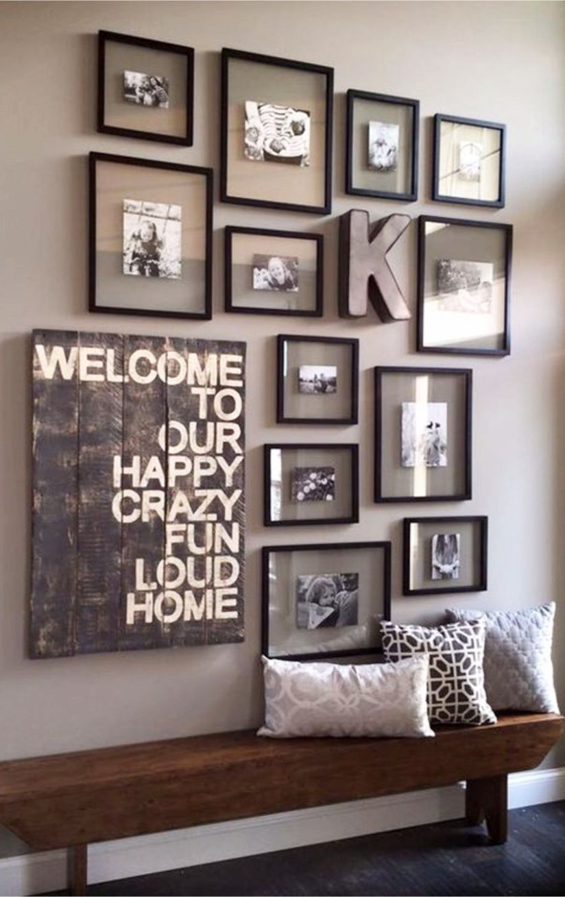 Photo Wall Ideas - 9 Picture Gallery Wall Layout Ideas For The ..