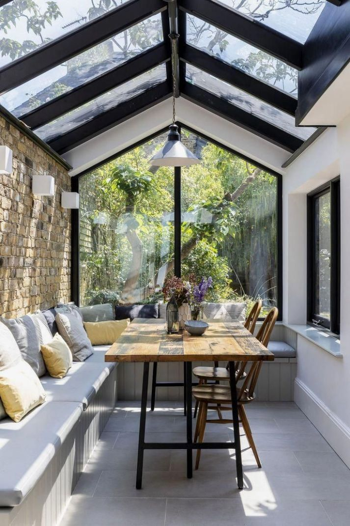 Pin auf Garden - modern sunroom ideas with pictures