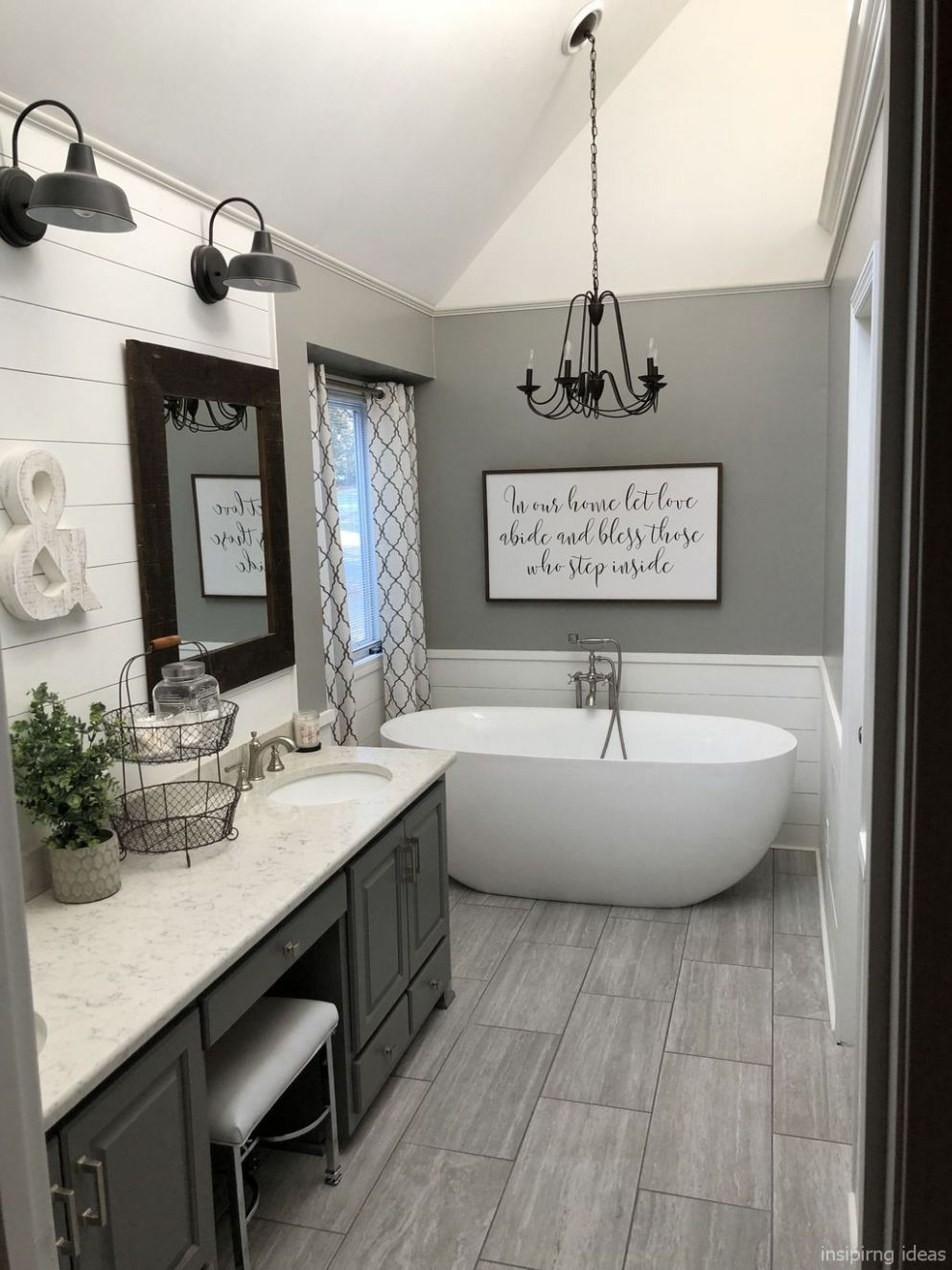 Pin by Amber Walker on Bathroom Ideas | Modern farmhouse bathroom ..