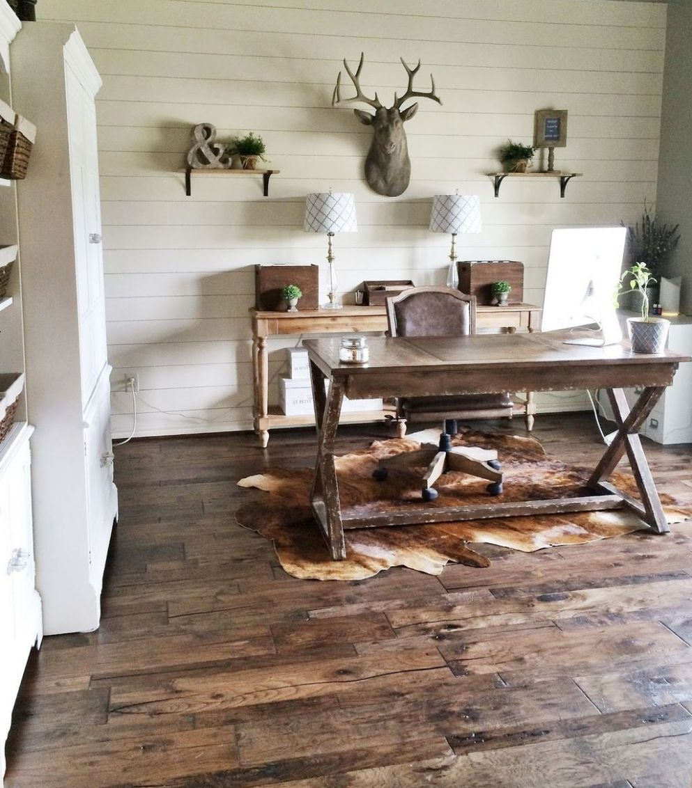 Pin by Chanda Pifferini on Office Ideas | Rustic home offices ..
