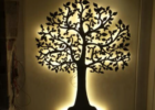 Pin by Gi Gie on room ideas | Metal tree wall art, House wall ...