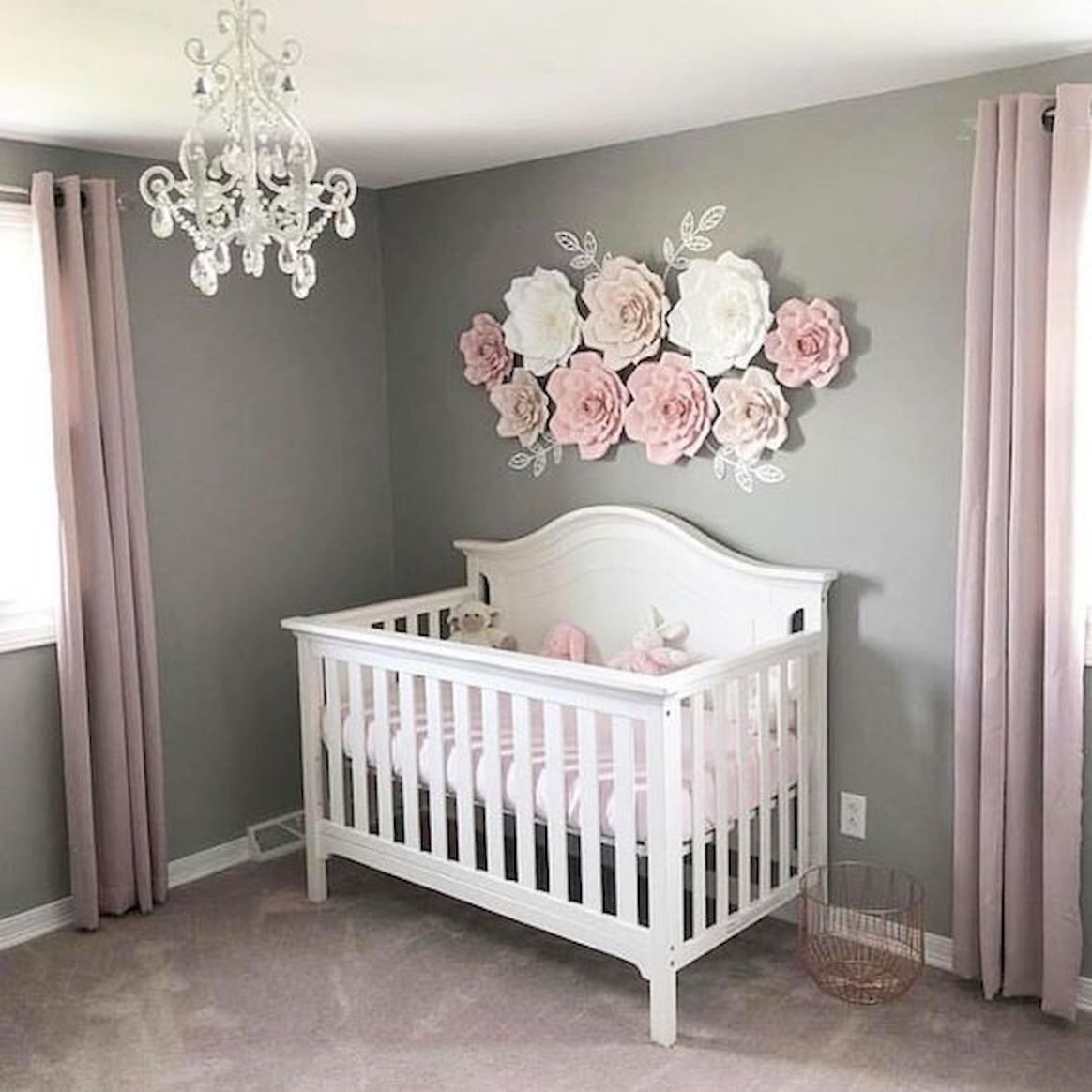 Pin by Jsmes Higgins on cfc | Baby girl nursery room, Baby girl ..