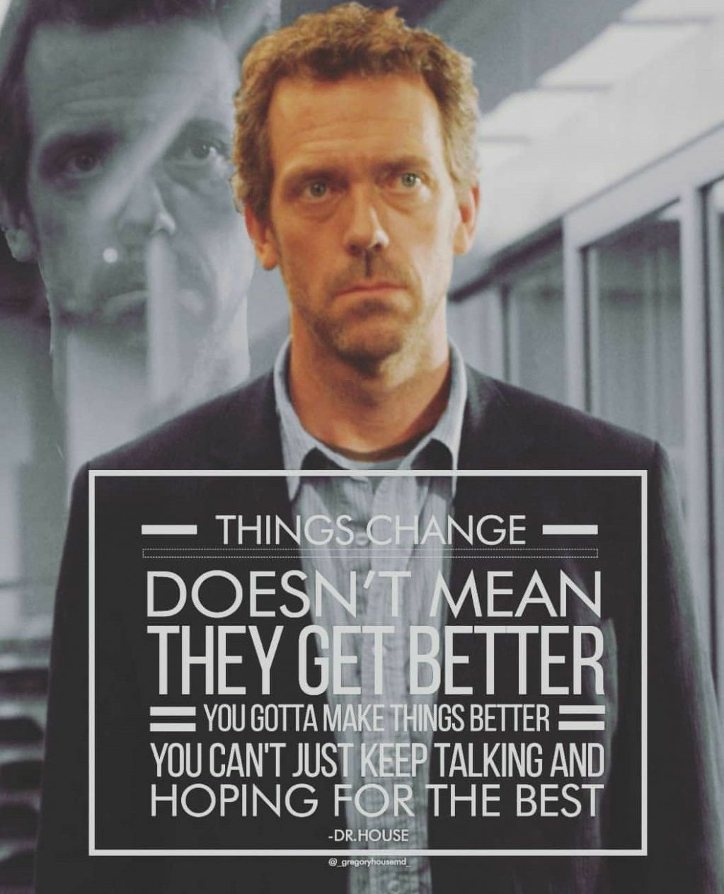 Pin by Miranda Jenkins on House | House md quotes, House md, Dr ..